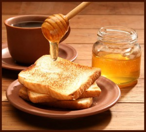 bread and honey