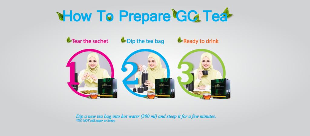 how to prepare gc tea