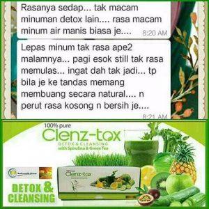 clenz-tox testi